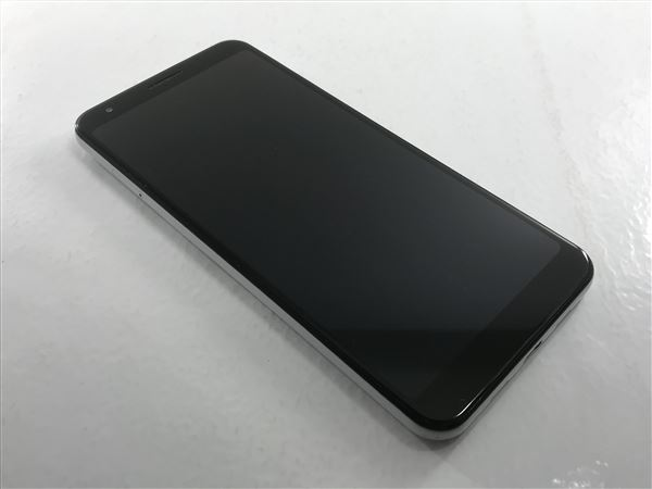 【中古】【安心保証】 SoftBank Pixel 3a XL[64G] クリアリーホワイト