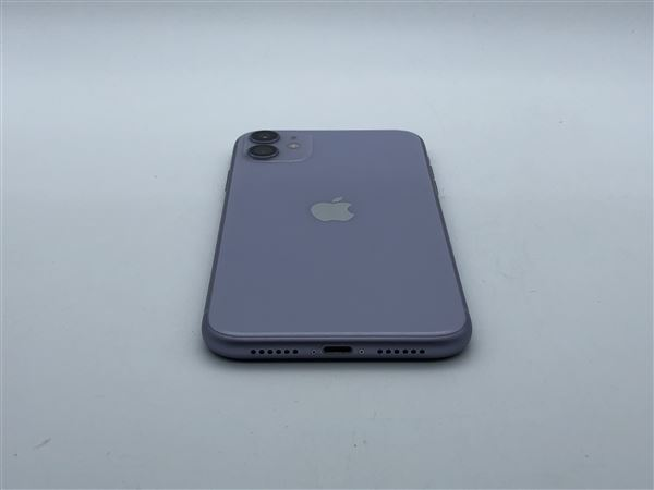 【中古】【安心保証】 iPhone11[128GB] SoftBank MWM52J パープル