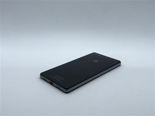 【中古】【安心保証】 SIMフリー P8lite ブラック