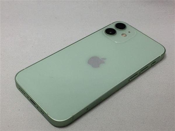 【中古】【安心保証】 iPhone12mini[128GB] SIMフリー グリーン