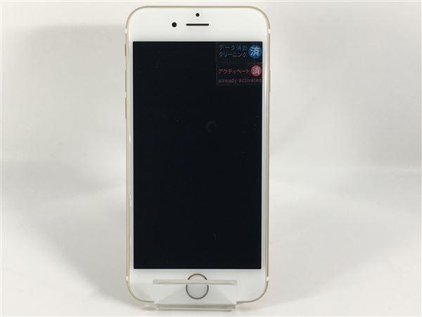 【中古】【安心保証】 iPhone6[64GB] SoftBank MG4J2J ゴールド