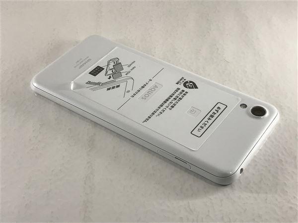 【中古】【安心保証】 SIMフリー SHーM07 ホワイト