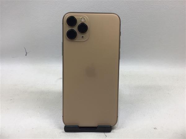 【中古】【安心保証】 iPhone11 Pro[256GB] SIMロック解除 docomo ゴールド