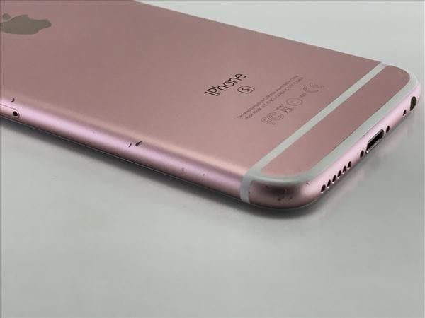 【中古】【安心保証】 iPhone6s[128GB] SoftBank NKQW2J ローズゴールド