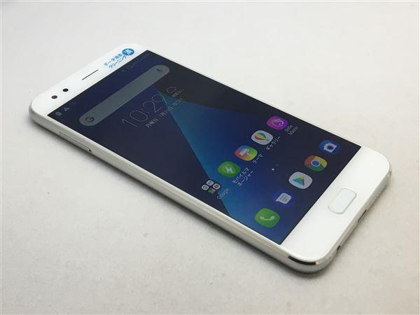 【中古】【安心保証】 SIMフリー ZenFone4[64G] ホワイト