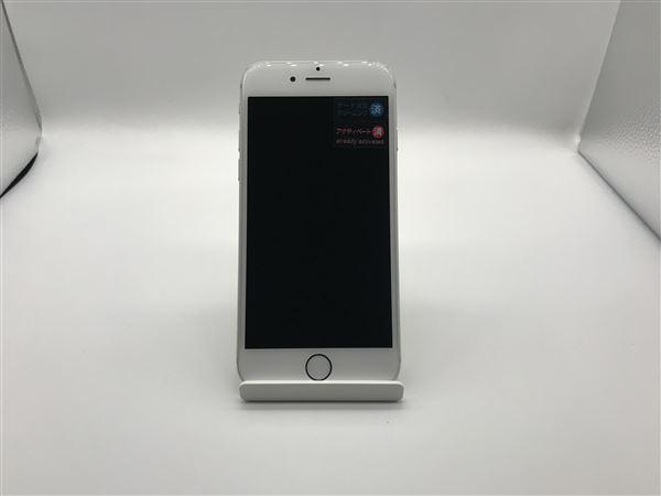 【中古】【安心保証】 iPhone6[16GB] au NG482J シルバー