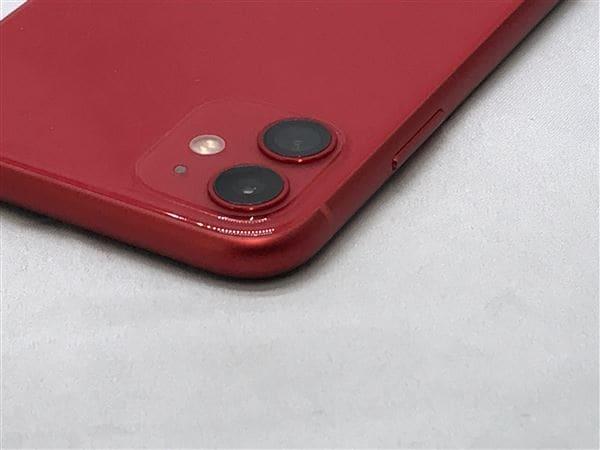 【中古】【安心保証】 iPhone11[64GB] SoftBank NWLV2J レッド