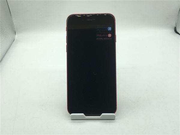 【中古】【安心保証】 iPhoneSE 第2世代[64GB] au MHGR3J レッド