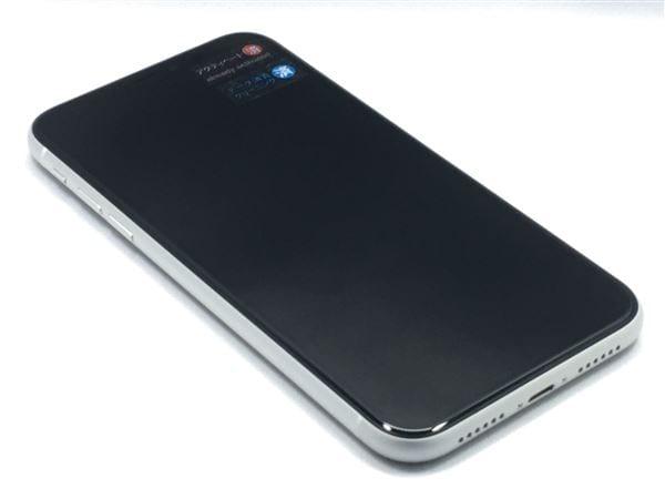 【中古】【安心保証】 iPhoneXR[128GB] SIMフリー ホワイト
