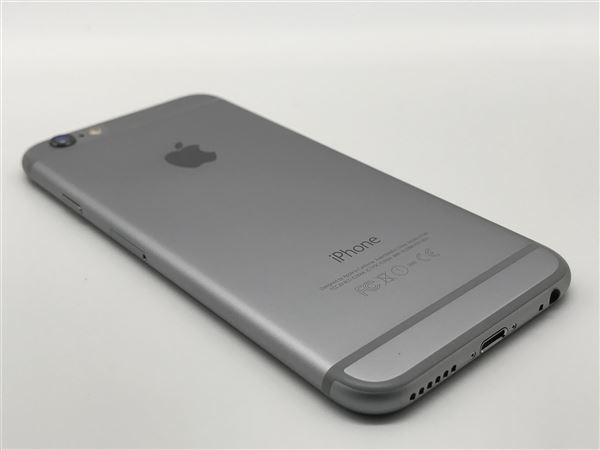 【中古】【安心保証】 iPhone6[16GB] SoftBank NG472J スペースグレイ