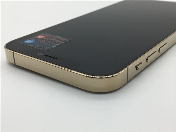 【中古】【安心保証】 iPhone12Pro[128GB] SIMロック解除 au ゴールド