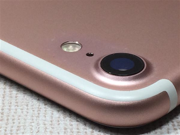 【中古】【安心保証】 iPhone7[128GB] SIMロック解除 docomo ローズゴールド