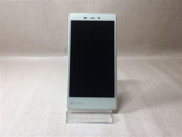 【中古】【安心保証】 SoftBank 200SH ホワイト