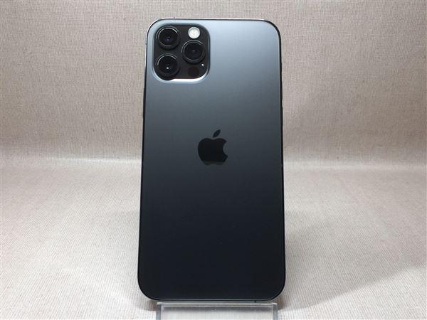 【中古】【安心保証】 iPhone12Pro[256GB] au MGM93J グラファイト