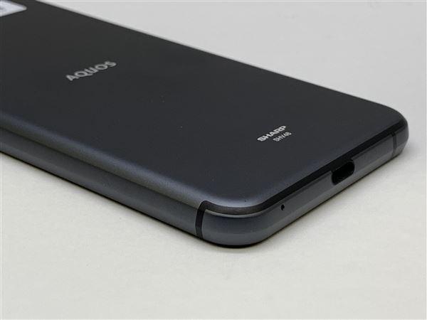 【中古】【安心保証】 UQモバイル SHV48 ブラック