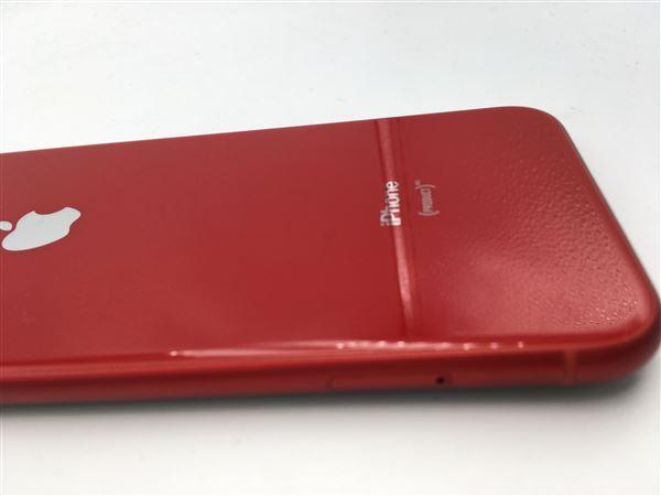【中古】【安心保証】 iPhoneXR[128GB] docomo NT0N2J レッド
