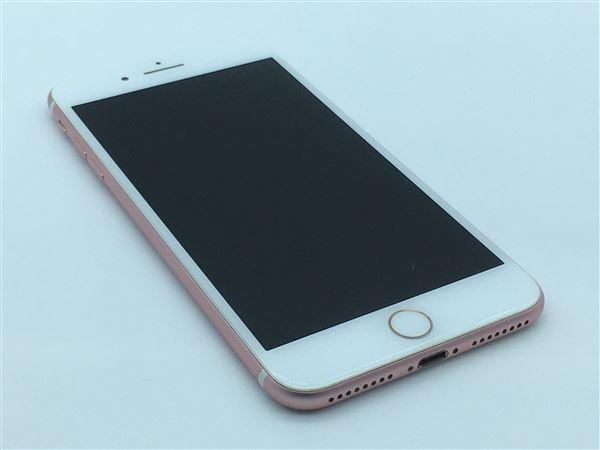【中古】【安心保証】 iPhone7Plus[128GB] SIMロック解除 au ローズゴールド