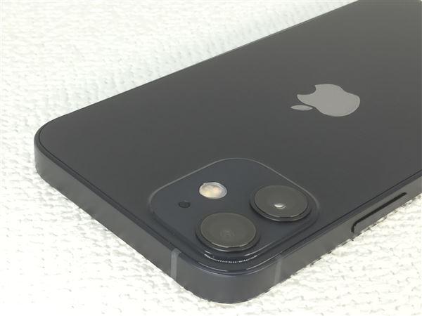 【中古】【安心保証】 iPhone12mini[128GB] SIMフリー ブラック