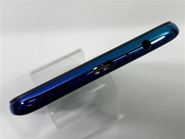 【中古】【安心保証】 SIMフリー OPPO Reno A[64G] ブルー