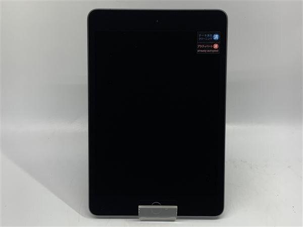 【中古】【安心保証】 iPadmini5 7.9インチ[64GB] SIMフリー スペースグレイ