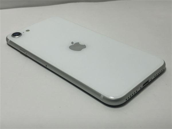 【中古】【安心保証】 iPhoneSE 第2世代[128GB] au MHGU3J ホワイト