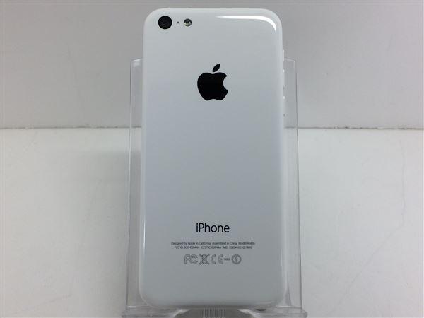 【中古】【安心保証】 au iPhone5c[16G] ホワイト