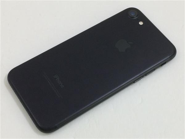 【中古】【安心保証】 iPhone7[128GB] au MNCK2J ブラック
