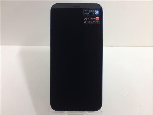 【中古】【安心保証】 iPhone12[128GB] SIMロック解除 docomo ブルー