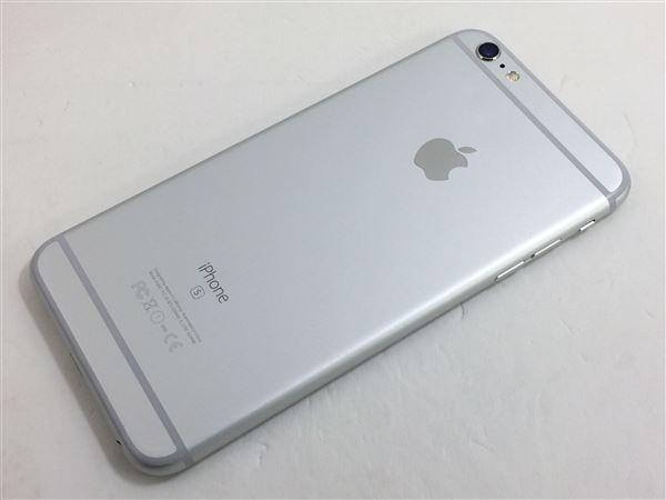 【中古】【安心保証】 iPhone6sPlus[64GB] au NKU72J シルバー
