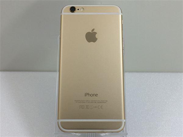 【中古】【安心保証】 iPhone6[16GB] au MG492J ゴールド