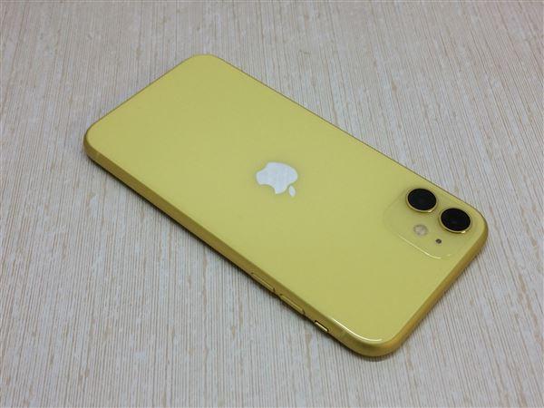 【中古】【安心保証】 iPhone11[256GB] docomo MHDT3J イエロー