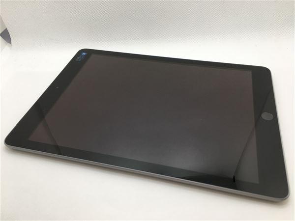 【中古】【安心保証】 iPad 9.7インチ 第6世代[32GB] セルラー au スペースグレイ