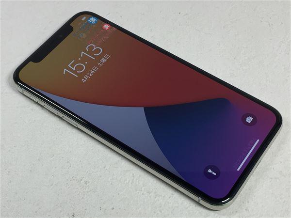 【中古】【安心保証】 iPhoneX[64GB] SIMロック解除 docomo シルバー