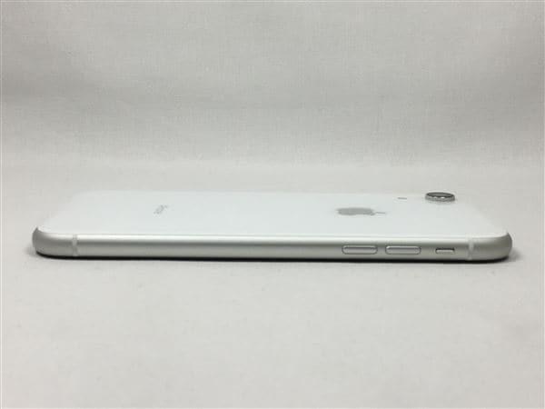 【中古】【安心保証】 iPhoneXR[64GB] SIMフリー ホワイト