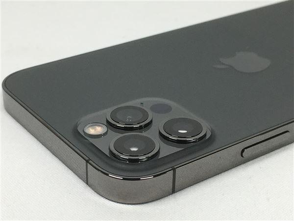【中古】【安心保証】 iPhone12Pro[128GB] SIMロック解除 au グラファイト