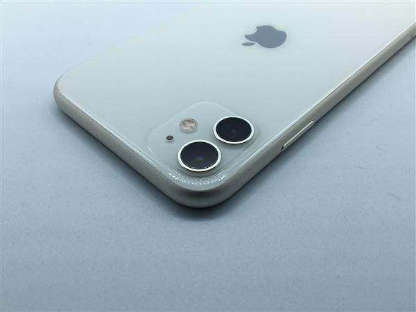 【中古】【安心保証】 iPhone11[128GB] SIMロック解除 docomo ホワイト