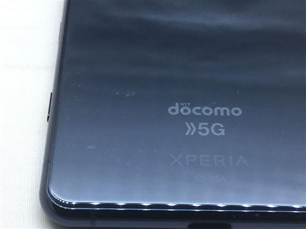 【中古】【安心保証】 docomo SOー52A ブルー