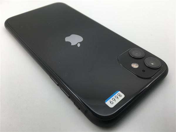 【中古】【安心保証】 iPhone11[128GB] SIMロック解除 docomo ブラック