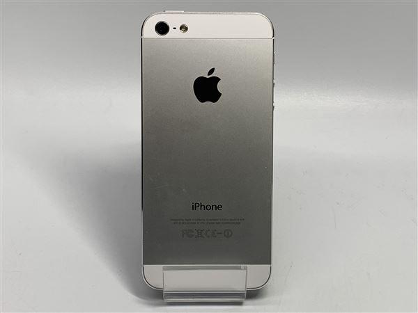 【中古】【安心保証】 SoftBank iPhone5[32G] ホワイト&シルバー
