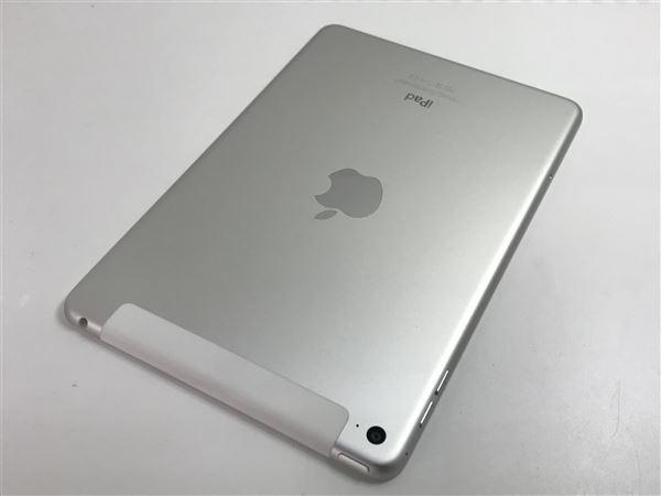 【中古】【安心保証】 iPadmini4 7.9インチ[16GB] セルラー docomo シルバー