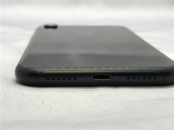 【中古】【安心保証】 iPhoneXR[256GB] docomo MT0V2J ブラック