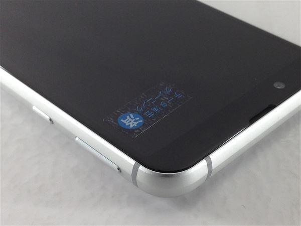 【中古】【安心保証】 SoftBank 907SH シルバー