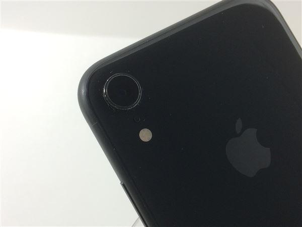 【中古】【安心保証】 iPhoneXR[64GB] SIMロック解除 au ブラック