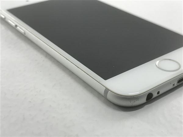 【中古】【安心保証】 iPhone6[64GB] docomo MG4H2J シルバー