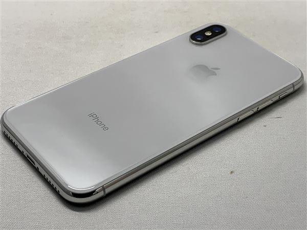 【中古】【安心保証】 iPhoneX[256GB] SIMロック解除 docomo シルバー