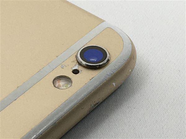 【中古】【安心保証】 SoftBank iPhone6s[64G] ゴールド SIMロック解除済