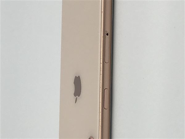 【中古】【安心保証】 iPhone8[256GB] au MQ862J ゴールド