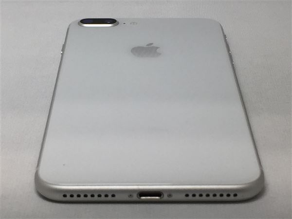 【中古】【安心保証】 iPhone8Plus[64GB] SIMフリー シルバー