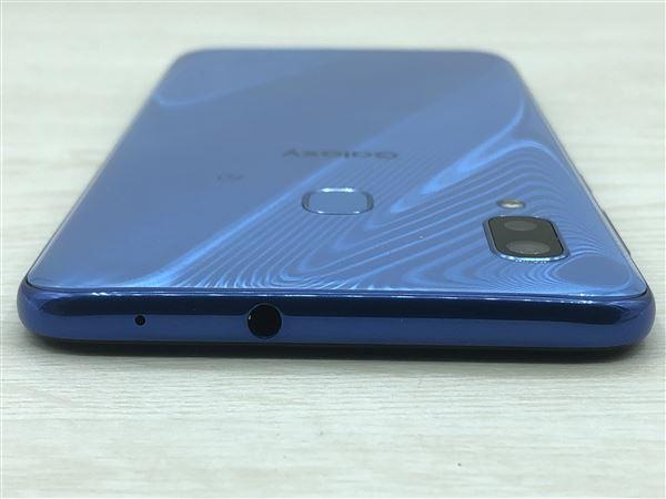 【中古】【安心保証】 SIMフリー SCV43 ブルー