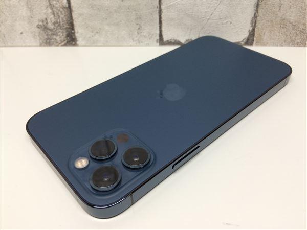 【中古】【安心保証】 iPhone12Pro[256GB] SoftBank MGMD3J パシフィックブルー